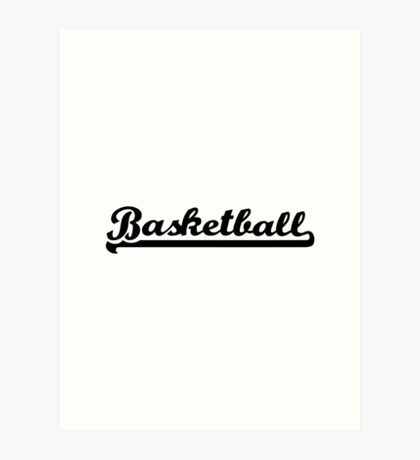 Basketball sports Art Print