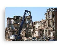 demolition Canvas Print