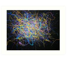String Theory No.2 Art Print