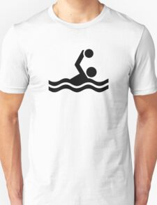 Water polo icon Unisex T-Shirt