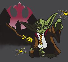 Yoda Potter by aaronradney