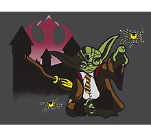 Yoda Potter Photographic Print
