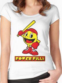 Power Pills Women's Fitted Scoop T-Shirt