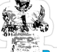 cam newton (panthers) Sticker