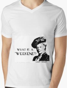 Another what's a weekend shirt Mens V-Neck T-Shirt