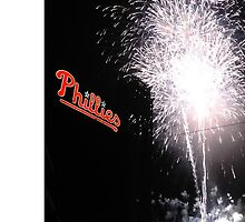 Philadelphia Phillies Fireworks Case by CappnKrunk