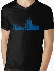 Downton skyline Mens V-Neck T-Shirt