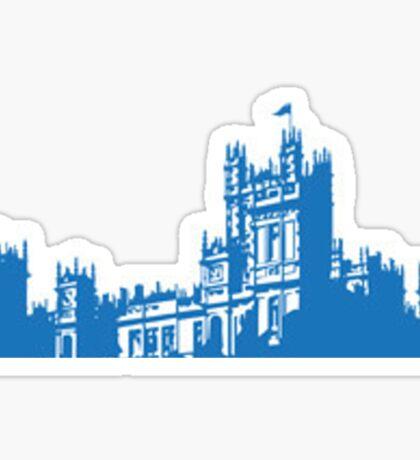 Downton skyline Sticker