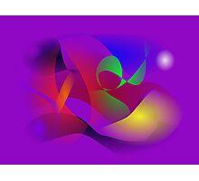 Purple Universe Photographic Print