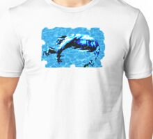 Man force in water Unisex T-Shirt