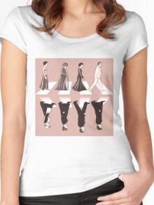 Downton Abbey Beatles Style Women's Fitted Scoop T-Shirt