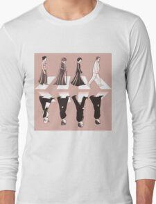 Downton Abbey Beatles Style Long Sleeve T-Shirt