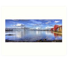 The Crossings on the Forth Art Print