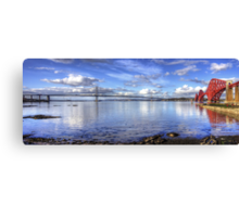 The Crossings on the Forth Canvas Print