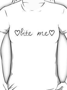 ♡ Bite Me ♡ T-Shirt