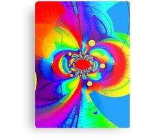 Psychedelic Swirl Metal Print