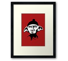 A Free Elf Framed Print