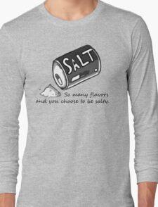 PJSalt V1 (black text) Long Sleeve T-Shirt