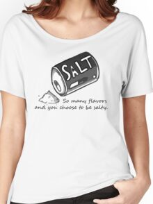 PJSalt V1 (black text) Women's Relaxed Fit T-Shirt