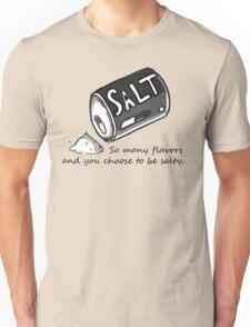 PJSalt V1 (black text) Unisex T-Shirt