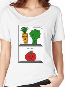 SLOIO- I'm A Fruit Women's Relaxed Fit T-Shirt