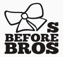 bows before bros Baby Tee