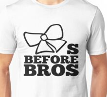 bows before bros Unisex T-Shirt