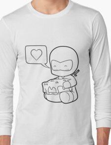 Ninja Cake Love Long Sleeve T-Shirt