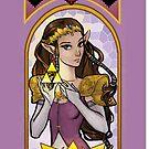 Princess Zelda by ratgirlstudios
