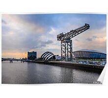Clydeside Sunset Poster
