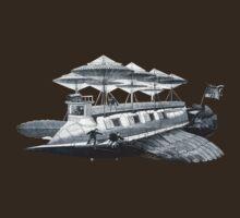 Vintage Airship by bassdmk