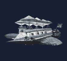 Vintage Airship Kids Clothes