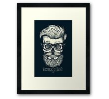 Hipster is Dead II Framed Print