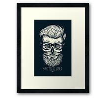 Hipster is Dead II Framed Print