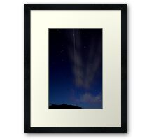 Man Made Space Whomp Framed Print