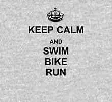 Keep Calm and Swim, Bike, Run Long Sleeve T-Shirt