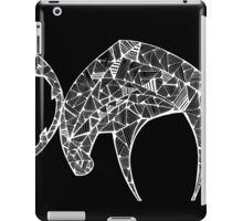 The Last Angry Moose (white) iPad Case/Skin