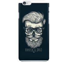 Hipster is Dead II iPhone Case/Skin