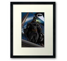 Batman Gotham Sentinel Framed Print