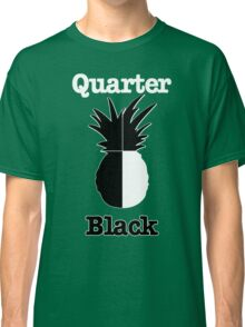 Quarter Black Classic T-Shirt