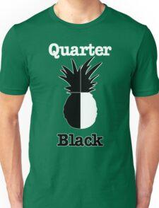 Quarter Black Unisex T-Shirt