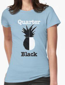 Quarter Black Womens T-Shirt