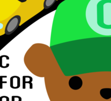 """ABC Bears """"C is for Balloon"""" Sticker"""