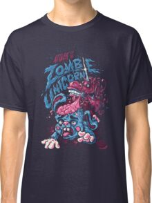 Zombie Unicorn Attacks Classic T-Shirt