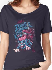 Zombie Unicorn Attacks Women's Relaxed Fit T-Shirt