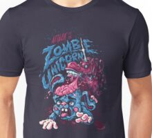 Zombie Unicorn Attacks Unisex T-Shirt