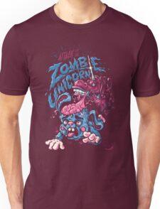 Zombie Unicorn Attacks Unisex T-Shirt