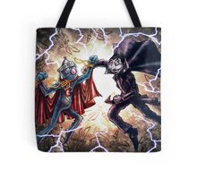 Super Grover vs. The Count Tote Bag