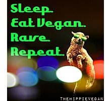 Vegan rave Photographic Print