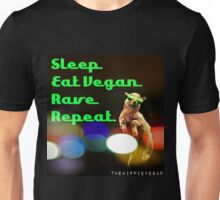 Vegan rave Unisex T-Shirt